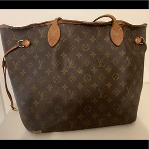 Louis Vuitton Never Full MM tote bag